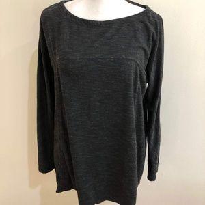 Max Studio Weekend | Terry cloth black sweater